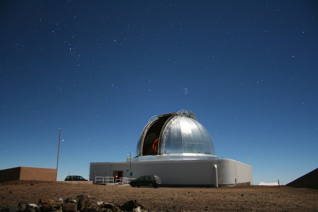 In addition to supporting a variety of NASA planetary missions, NASA's Infrared Telescope Facility on Maunakea on the Big Island of Hawaii is also used to determine the composition of near-Earth objects. Image Credit: University of Hawaii Institute for Astronomy / Michael Connelley