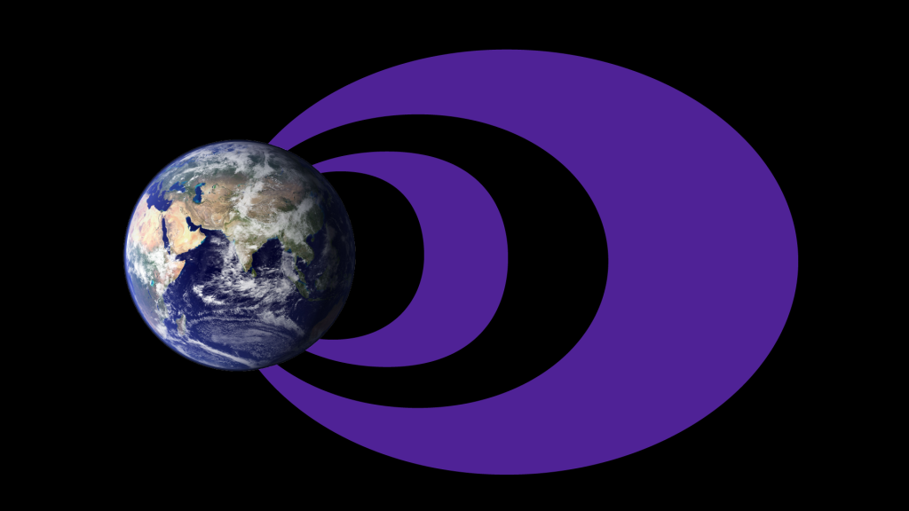 (Illustration) The traditional idea of the radiation belts includes a larger, more dynamic outer belt and a smaller, more stable inner belt with an empty slot region separating the two. Image Credit: NASA Goddard/Duberstein
