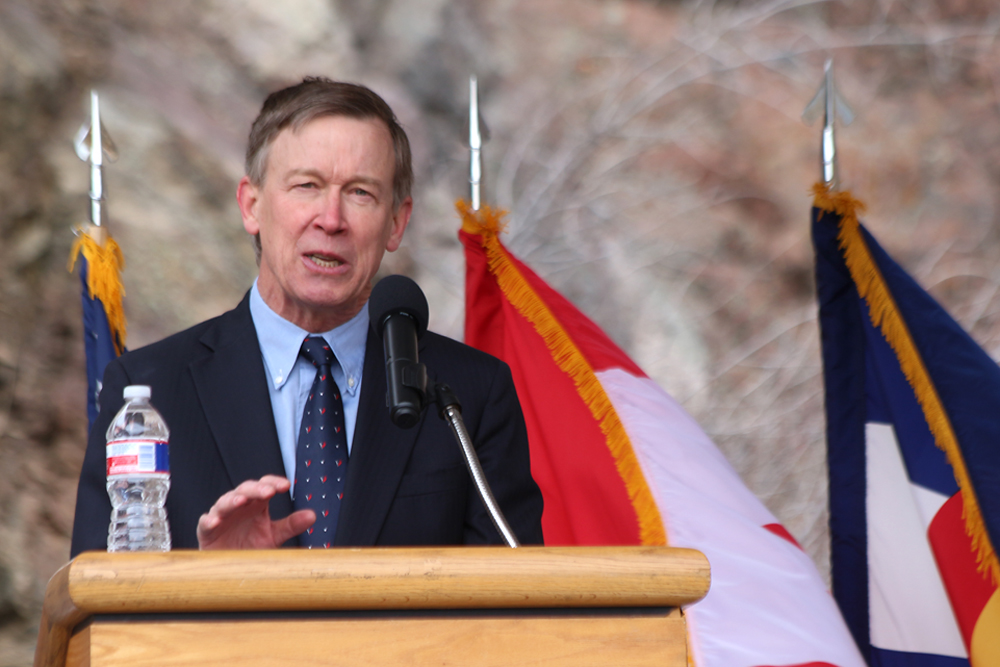 Colorado Governor John Hickenlooper. Image Credit: Colorado Space News