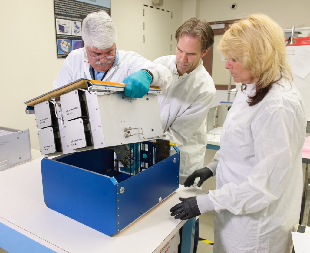 Under the direction of the International Space Station Utilization Office and the Space Biology Project, NASA's Rodent Research Hardware System was developed and built at NASA's Ames Research Center to provide a research platform for long-duration rodent studies in space Image Credit: NASA