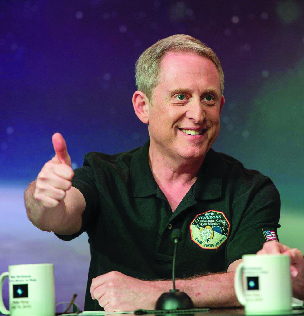 Portrait of Dr. Alan Stern, associate vice president of the Space Science and Engineering Division at Southwest Research Institute (SwRI) and the Principal Investigator of NASA's New Horizons mission to Pluto. Image Credit: NASA/Bill Ingalls