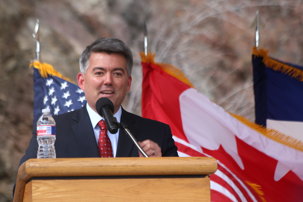 Colorado Sen. Corey Gardner. Image Credit: Colorado Space News