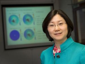 Yue Deng is a UTA associate professor of physics and leader of the project. Image Credit: UTA