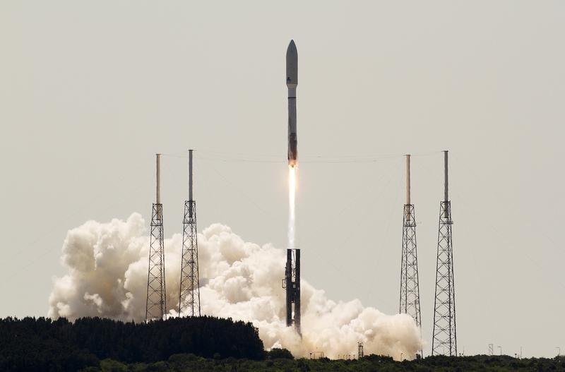 United Launch Alliance launches an Atlas V rocket with an United States Air Force OTV-4  onboard from Cape Canaveral Air Force Station, Florida, May 20, 2015. Image Credit: REUTERS/Michael Brown