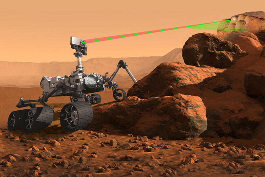 An artist's rendering of the Mars 2020 rover. Image Credit: NASA