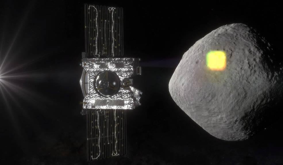 The mapping of the near-Earth asteroid Bennu is one of the science goals of NASA's OSIRIS-REx mission, and an integral part of spacecraft operations. The spacecraft will spend a year surveying Bennu before collecting a sample that will be returned to Earth for analysis. Image Credit: NASA/Goddard/University of Arizona