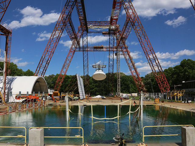 The Hydro Impact Basin at NASA Langley. Image Credit: NASA