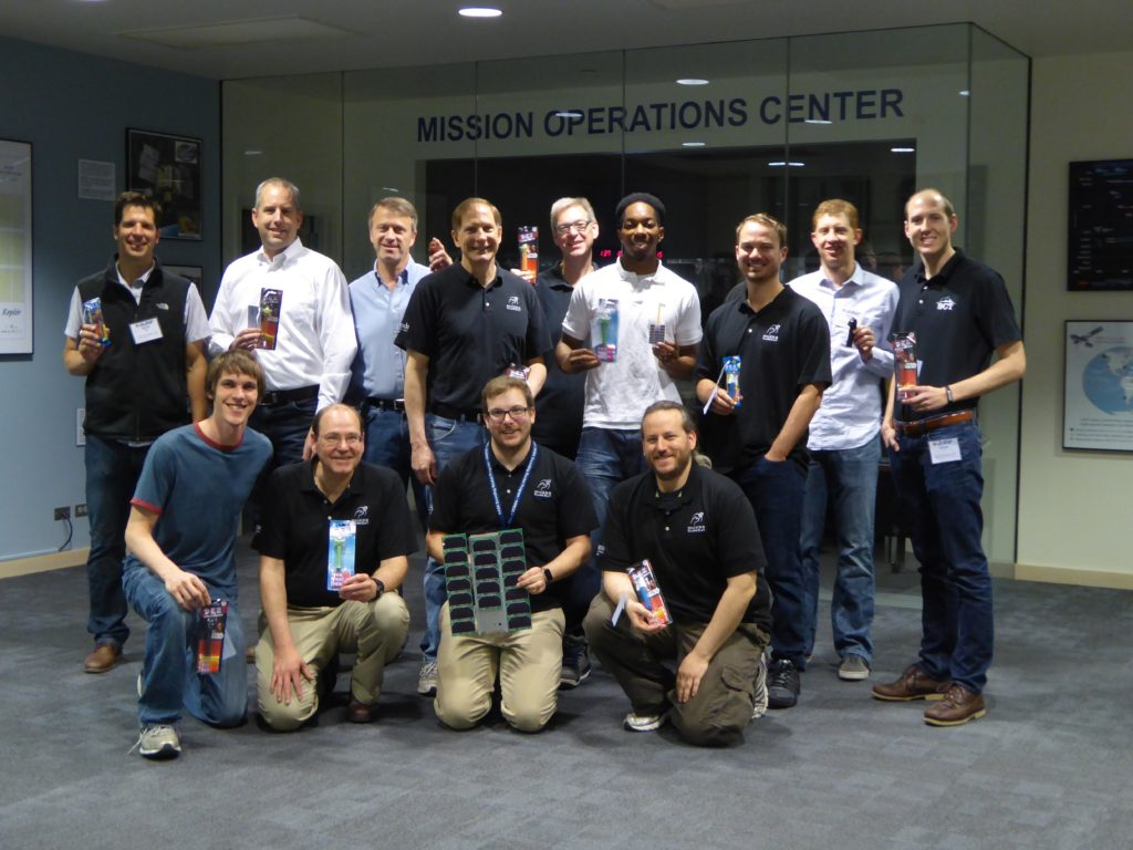The MinXSS team right after watching ISS deployment. Image Credit: CU LASP