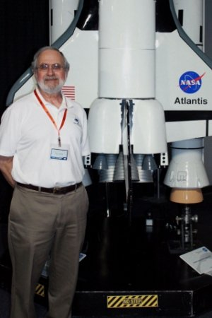 Former NASA engineer Lou Ramon will speak at the Space Foundation Discovery Center on July 16. Image Credit: Space Foundation