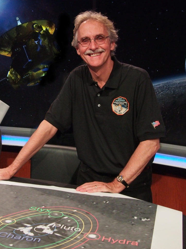 Dr. John Spencer, an Institute scientist at Southwest Research Institute (SwRI), is receiving the 2016 Planetary Sciences Section Whipple Award from the American Geophysical Union (AGU). Image Credit: NASA