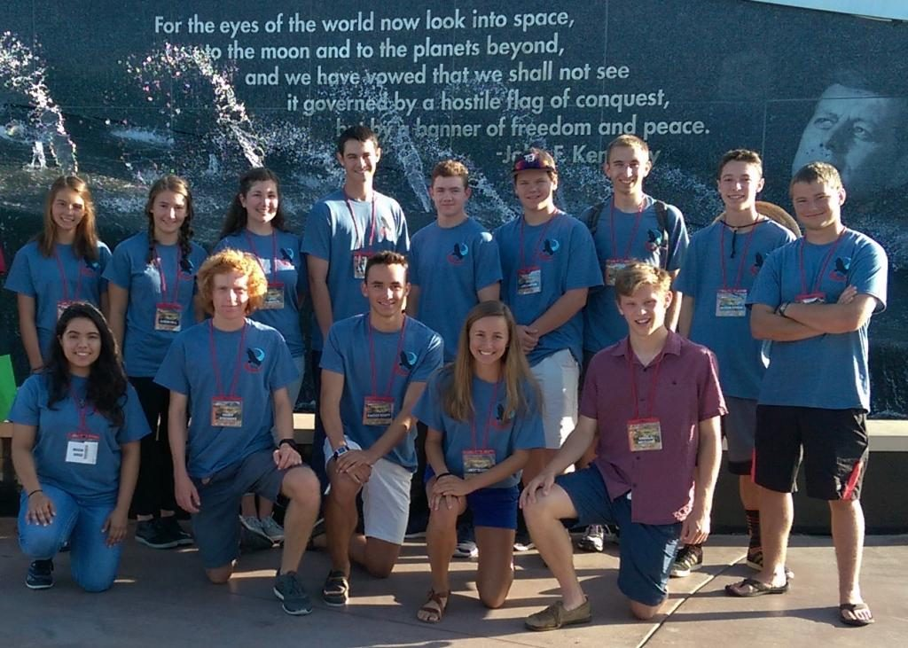 Students from Durango High School participated in the International Aerospace Design Competition. Image Credit: DHS