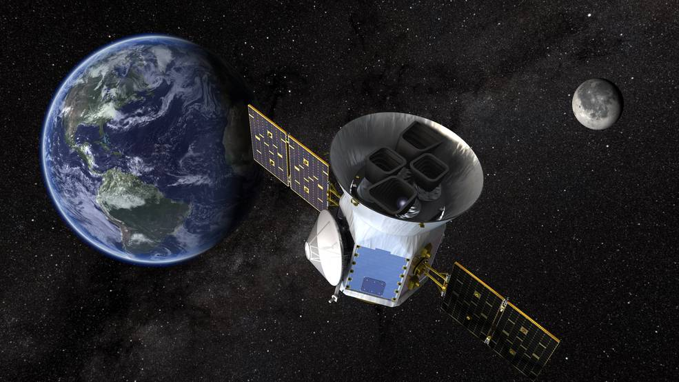 TESS will look at the nearest, brightest stars to find planetary candidates that scientists will observe for years to come. Image Credit: NASA's Goddard Space Flight Center