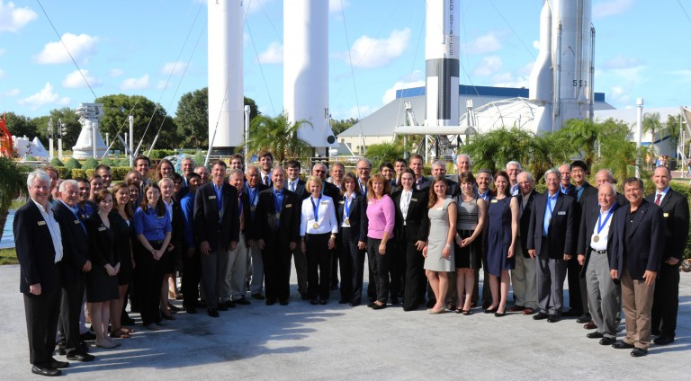 A select group of 40 undergraduate students who are soon to be Astronaut Scholars, a merit scholarship awarded by the Astronaut Scholarship Foundation (ASF). Image Credit: ASF