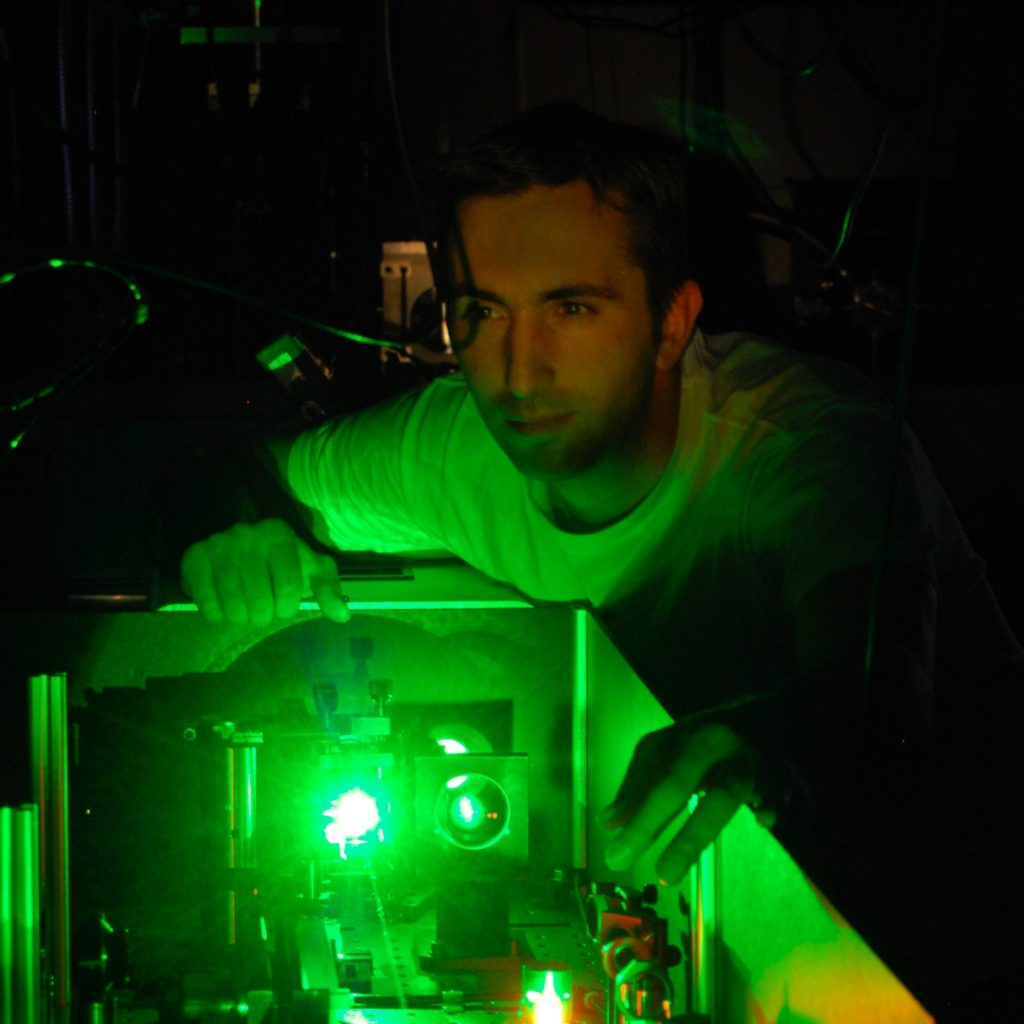 Tenio Popmintchev, a laser physicist at the JILA institute at the University of Colorado Boulder. Image Credit: JILA