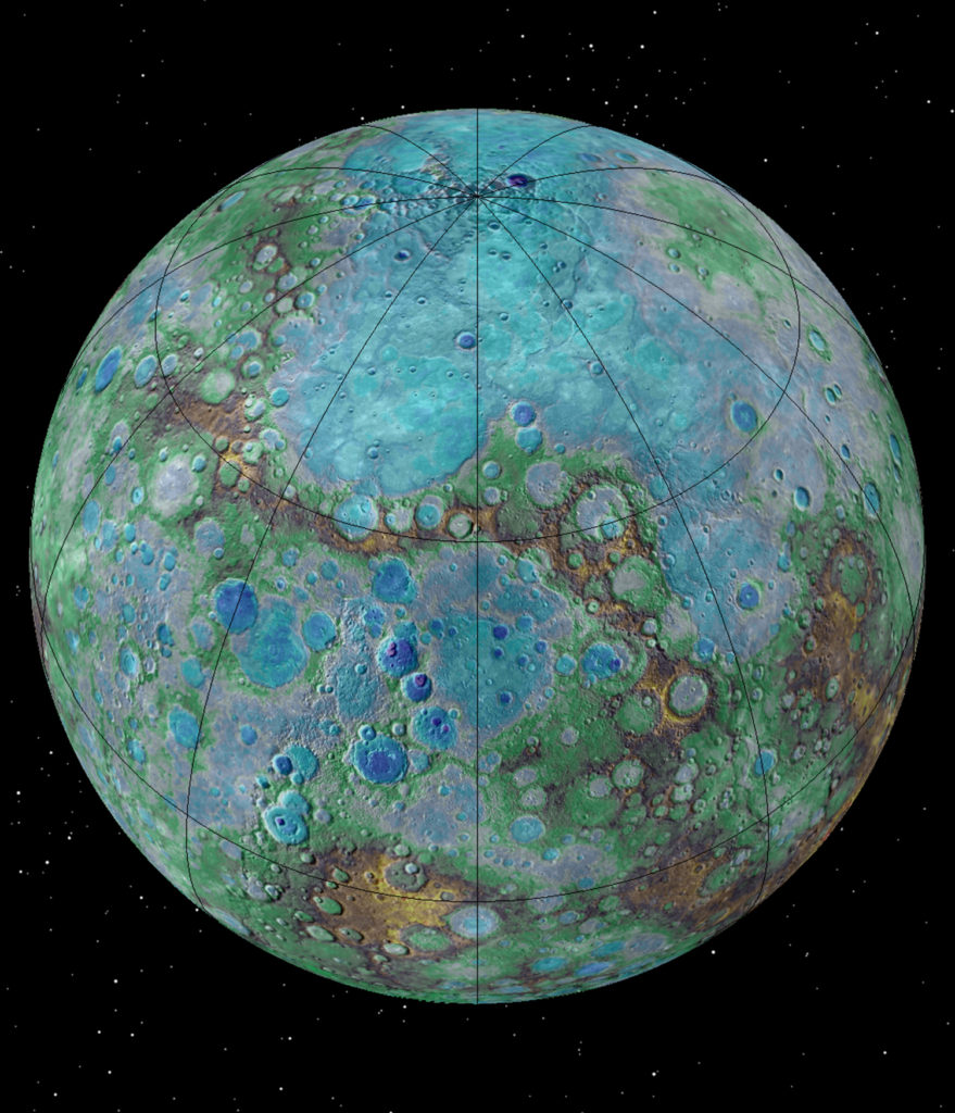 It's small, it's hot, and it's shrinking. Surprising new NASA-funded research suggests that Mercury is contracting even today, joining Earth as a tectonically active planet. Image Credit: NASA/JHUAPL/Carnegie Institution of Washington/USGS/Arizona State University
