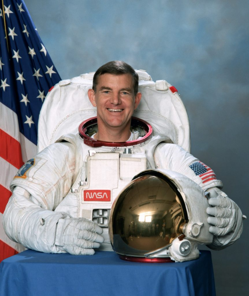 Astronaut James S. Voss. Image Credit: NASA