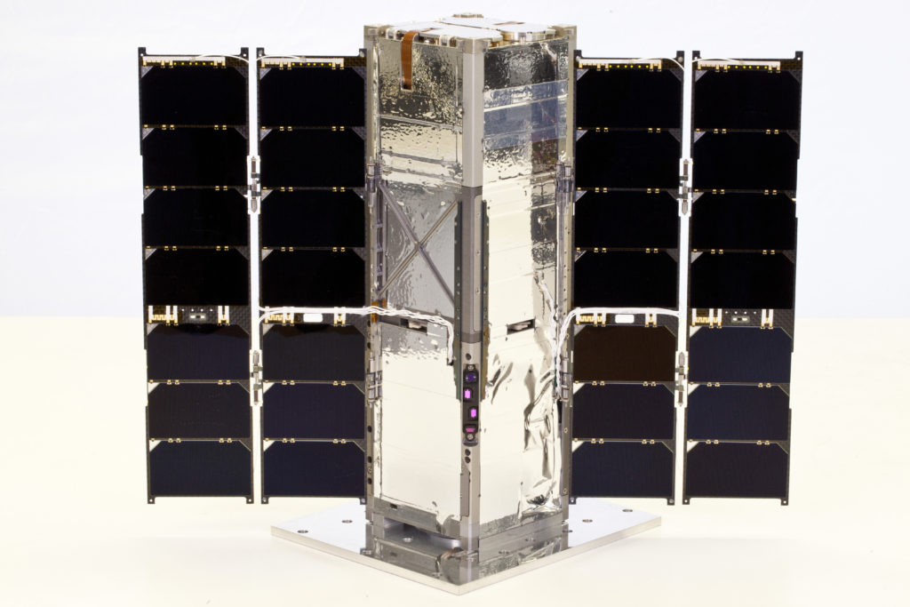 The Johns Hopkins Applied Physics Laboratory's Radiometer Assessment using Vertically Aligned Nanotubes (RAVAN) CubeSat — which will demonstrate new technology to measure Earth's radiation imbalance and predict future climate change — launched on Nov. 11 from Vandenberg Air Force Base, California.​ Image Credit: JHU APL/Blue Canyon Technologies