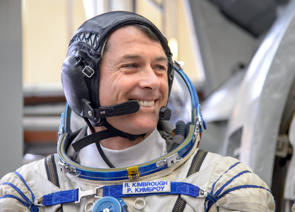NASA astronaut Shane Kimbrough will talk to Colorado students from the International Space Station on November 18. Image Credit: NASA/Bill Ingalls