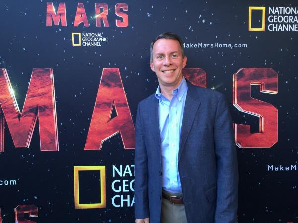 "Bobby Braun served as a technical consultant for National Geographic's six-part miniseries ""Mars"". Image Credit: National Geographic/CU Boulder"