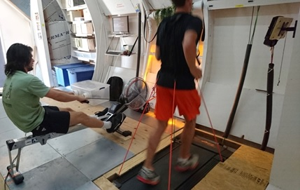 Oklahoma State's exercise system is conceptualized in an analog habitat system. Image Credit: Oklahoma State University